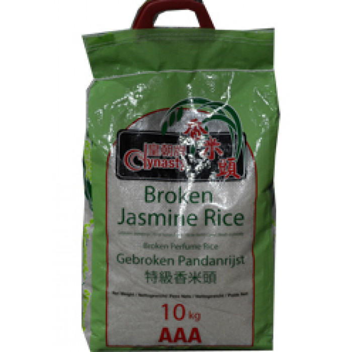 Dynasty Broken Jasmine Rice 10kg / 茉莉香米头10kg