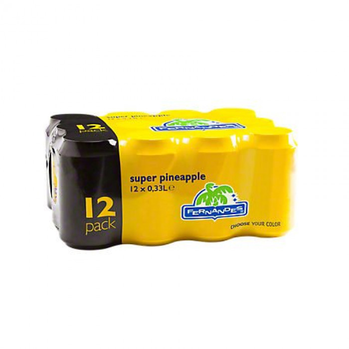 Fernandes Super Pineapple Drink 330ml [Tray 12x]
