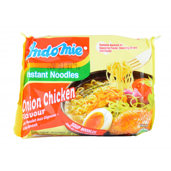 Indomie Instant Noodles Onion Chicken 70g