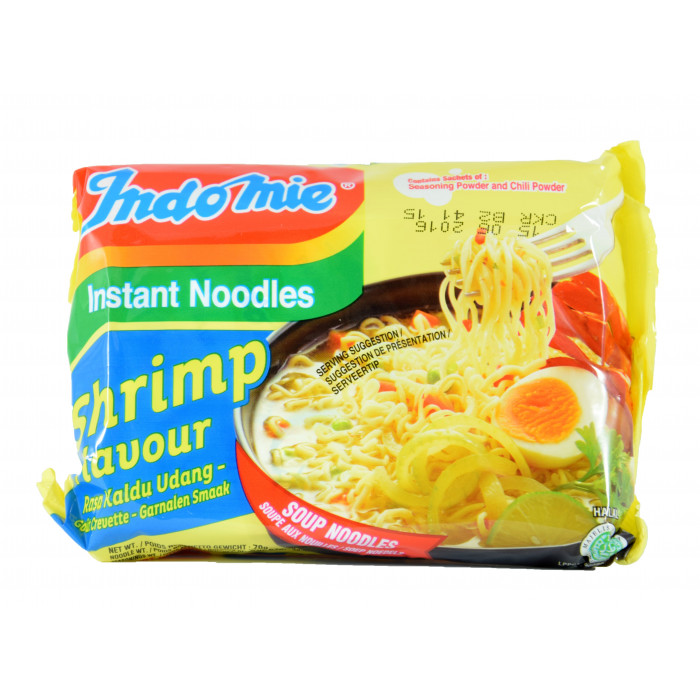 Indomie Instant Noodles Shrimp 70g