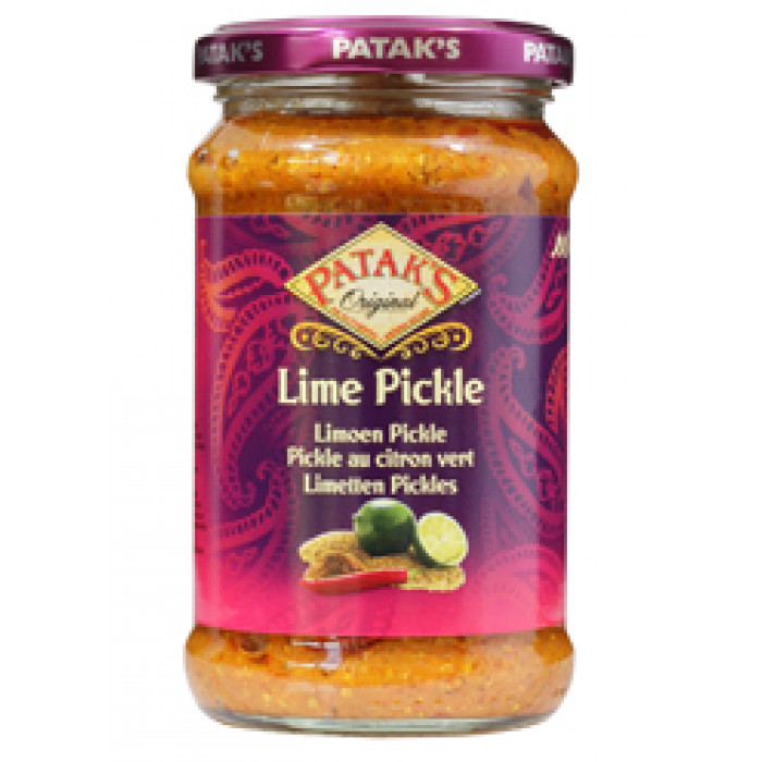 Patak's Lime Pickle Medium Hot 283g