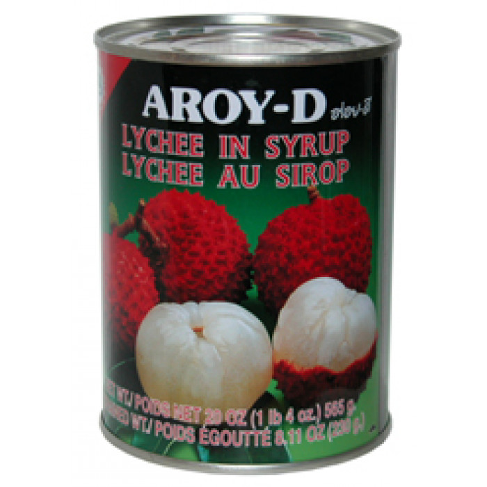 Aroy-D Lychee In Syrup 565g / 糖水荔枝 565克