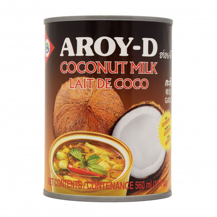 Aroy-D Coconut Milk 560ml (Cooking) 椰奶(煮食用)