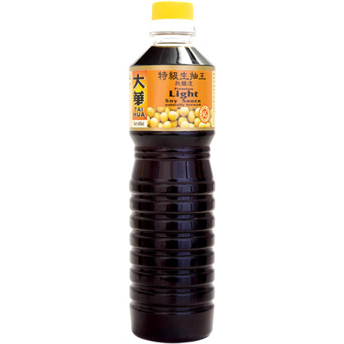Tai Hua Soy Sauce Premium Light 640ml 大华特级生抽王