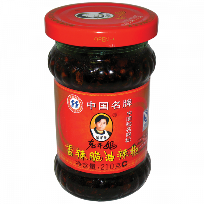 Old Mother Crispy Chilli in Oil 老干媽香辣脆油辣椒 210g