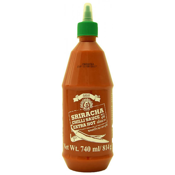 Suree Sriracha Chilli Sauce Extra Hot 740ml