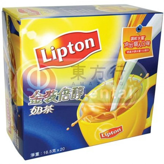 Lipton Milk Tea 3in1 20x16.5g (Gold) 立頓 3合1 奶茶