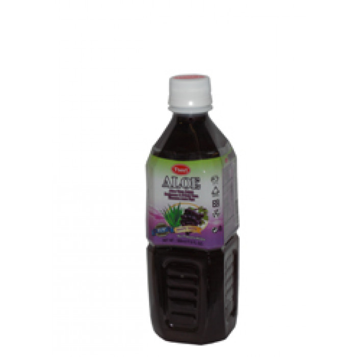 T' Best Aloe Vera Drink Grape Flav. 500ml葡萄口味