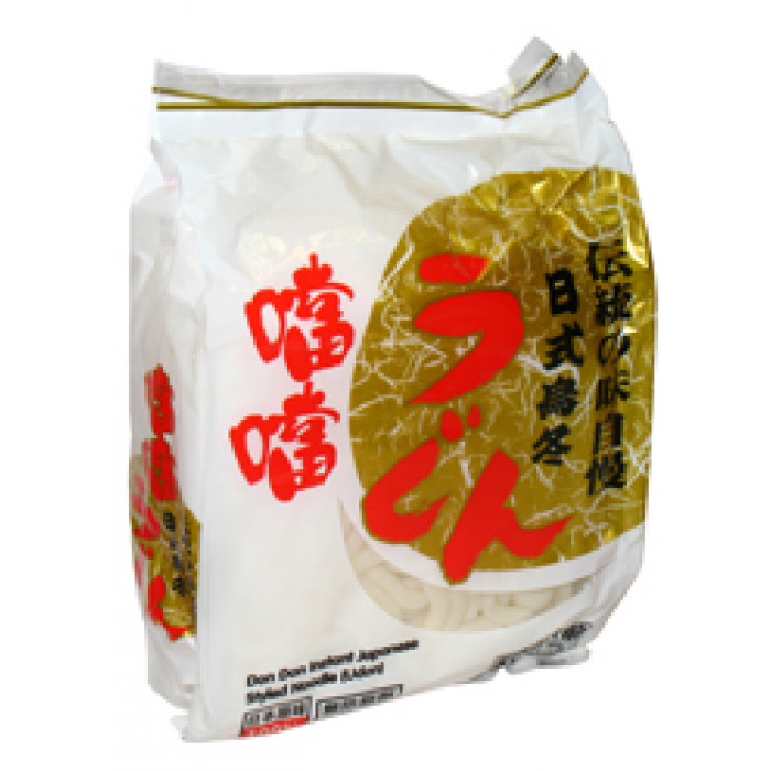 Dondon Instant Japanese Styled Noodle 噹噹日式烏冬 3x200g