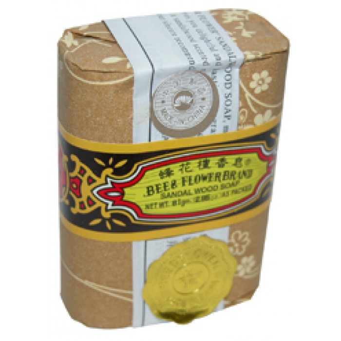 Bee & Flower Sandalwood Soap 81g 蜂花檀香皂