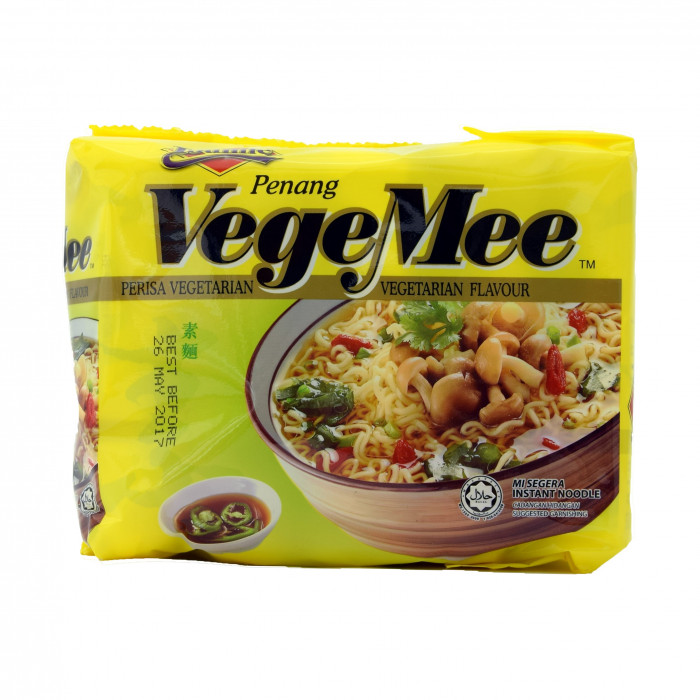 Ibumie Penang Vegetable Mie 80grx5 檳城齋菜麵