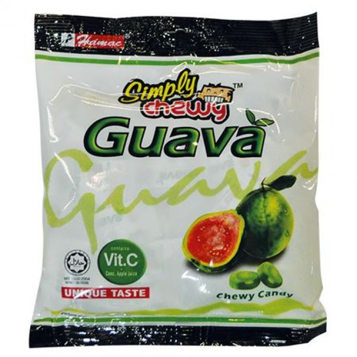 Hamac Simply Chewy Candy Guava Flavoured 120g / 马来西亚番石榴糖 120克