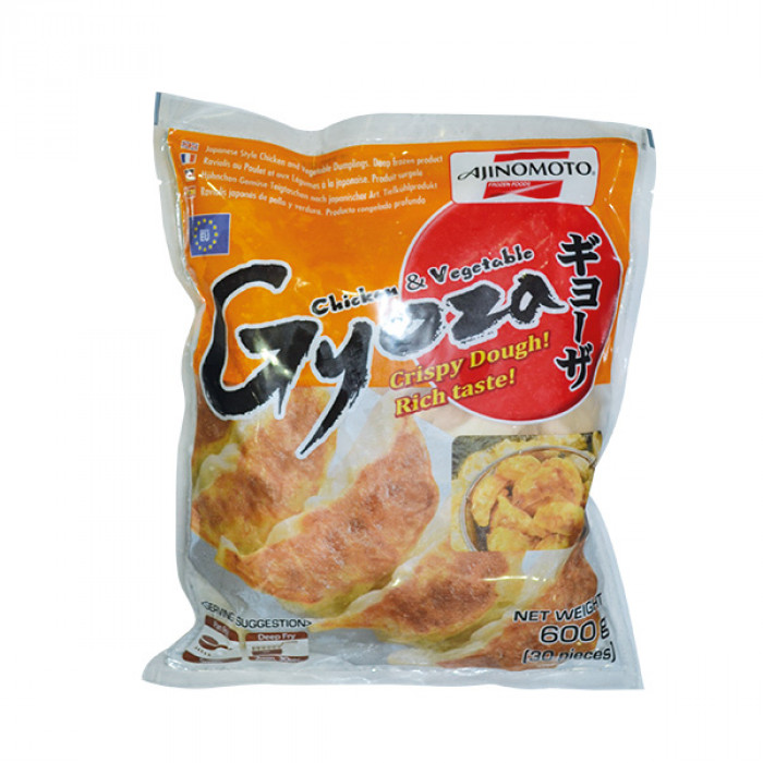 Ajinomoto Chicken & Vegetable Gyoza (PL) 600g 日本鸡肉饺子