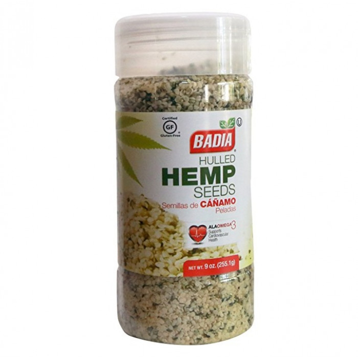 Badia Hulled Hemp Seeds (Hennep) 255g