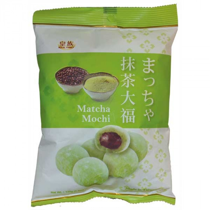 Royal Family Matcha Mochi 120g