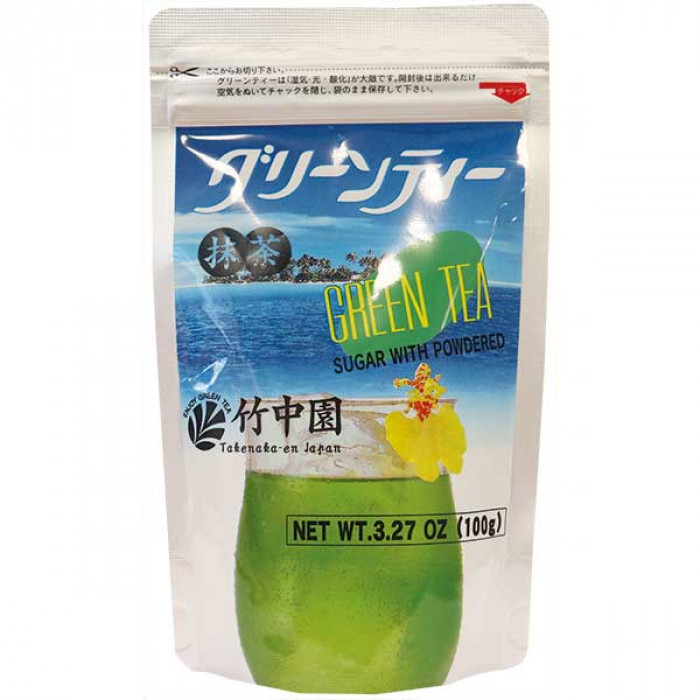 Hamasaenn Sugar With Powdered Green Tea 100g / 竹中园抹茶 100克