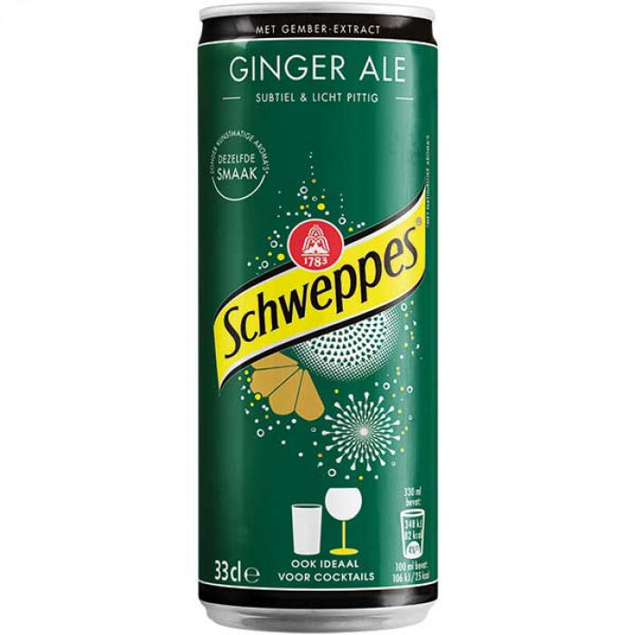 Schweppes Ginger Ale Drink 330 ml / 姜味碳酸饮料 330毫升