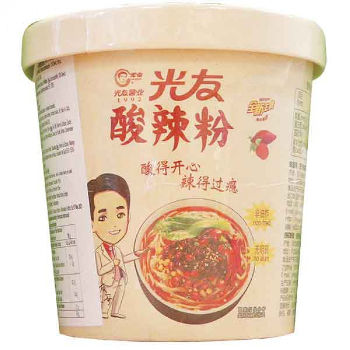 Guang You Instant Vermicelli Hot & Sour Flav. 110g / 光友酸辣粉 110g