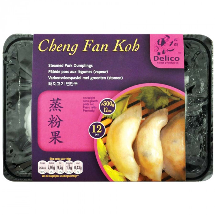 Delico Food Cheng Fan Koh 300g / Delico Food速冻蒸粉果