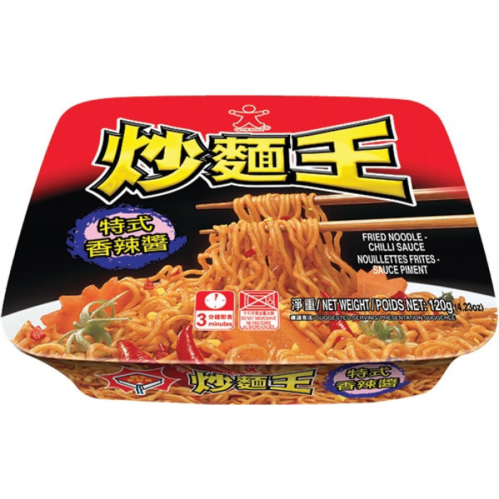 Doll Fried Noodle Chili Sauce 120g公仔香辣酱炒面王