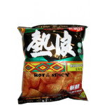 Calbee Hot & Spicy Potato (Yit Lon) Chips 55g 卡乐B热浪薯片