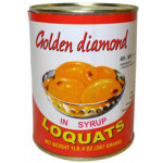 Golden Diamond Loquats In Syrup 567g / 糖水枇杷 567克