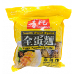 SSF Fresh Egg Noodle (Thick) 454g / 寿桃全蛋面 454克