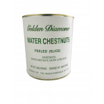 Golden Dimond Water Chestnut Sliced 3005g / 金钻石罐装马蹄片 3005g
