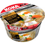 Koka Bowl Rice Noodle Chicken Abalone 65g / 可口 鲍鱼鸡汤碗装河粉 65克