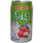 Mong Lee Shang Lychee Juice Drink with Nata de Coco 萬里香荔枝椰果露  320g