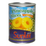 Sunlee/Key Pineapple Slices In Syrup 565g 菠蘿片