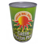 Valle Del Sole Green Pigeon Peas 400g
