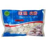 Mai Xiang Yuan Veg. Dumpling Chives & Bean Threads 450g 欧瑞腐皮韭菜水饺