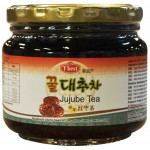 "T""Best Jujube Tea 580gr韩国红枣茶"