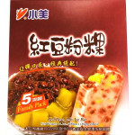 Shao Mei Red Bean&Fan Koh Ice Bar 5x80g / 小美 红豆粉粿冰棒 5x80克