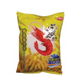 Calbee Japanese Okonomiyaki Flavoured Prawn Crackers 90g 卡乐B和风酱汁味虾条
