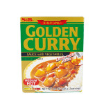 S&B Golden Curry Sauce With Vegetables Medium Hot 230g