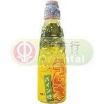 Hatakosen Ramune Soda Pineapple Carbonated Drink 200ml / ハタ鉱泉 ラムネ パイン味 200ml