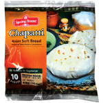 Spring Home Asian Soft Bread Chapatti 400g
