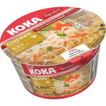 KOKA Instant Bowl Noodles Chicken Original Fla 90g / 可口 原味鸡汤碗装面 90克