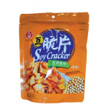 Nice Choice Soy Cracker Japan Teriyaki Sauce Flavour 九福豆脆片日式醬燒味 114g