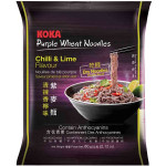 Koka Instant Purple Wheat Noodles Chilli & Lime Flavour 60g / 意式清辣香柠紫麦面 60克