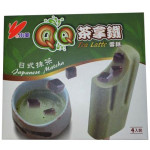 Shao Mei QQ Tea Latte Ice Bar (Japanese Matcha) 4x85g / 小美QQ日式抹茶拿铁冰棒