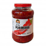 Old Mother Pickled Chilli 750g 老干妈风味糟辣椒