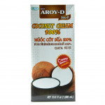 Aroy-D Coconut Cream 1ltr 椰浆