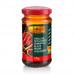Lee Kum Kee Chilli Oil With Dried Shrimps & Black Beans 170g 李锦记金钩油辣椒