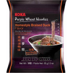 Koka Purple Wheat Noodles Braised Duck Flavour 65g