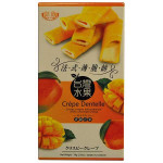 Royal Family Crispy Crepes with Premium White Chocolate Filling Mango Flavour 78g / 皇族法式芒果脆饼 78克