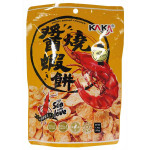 KA KA Crispy Shrimp Cracker Spicy Flavour 40g / 台湾咔咔酱烧虾饼(辣味) 40g