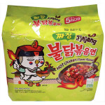 Samyang Hot Chicken Ramen Jjajang 140gX5packs 700g / 三养韩国炸酱火鸡面 140gX5包 700g